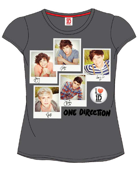CAMISETA ONE DIRECTION BIS