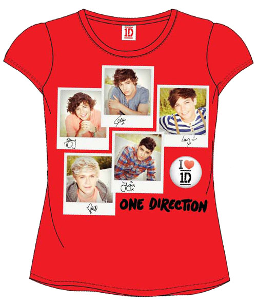 CAMISETA ONE DIRECTION RJO