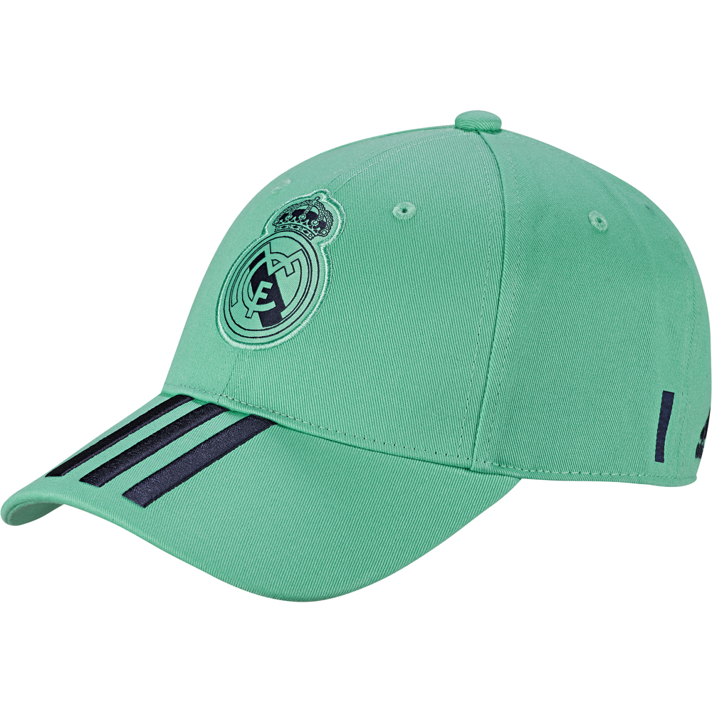 DY7722 REAL 3S CAP HOME/AWAY/3RD HI-RES GREEN S18/night indigo/white
