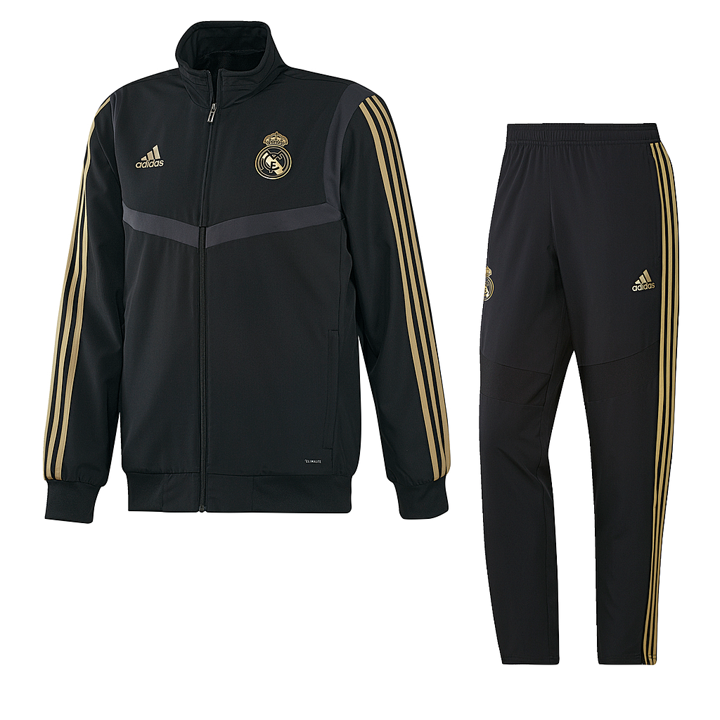 CHANDAL REAL MADRID 19/20 BLACK/GOLD