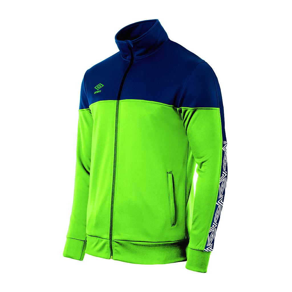 22007I-330 NYASSA TRAINING JACKET GREEN / NAVY