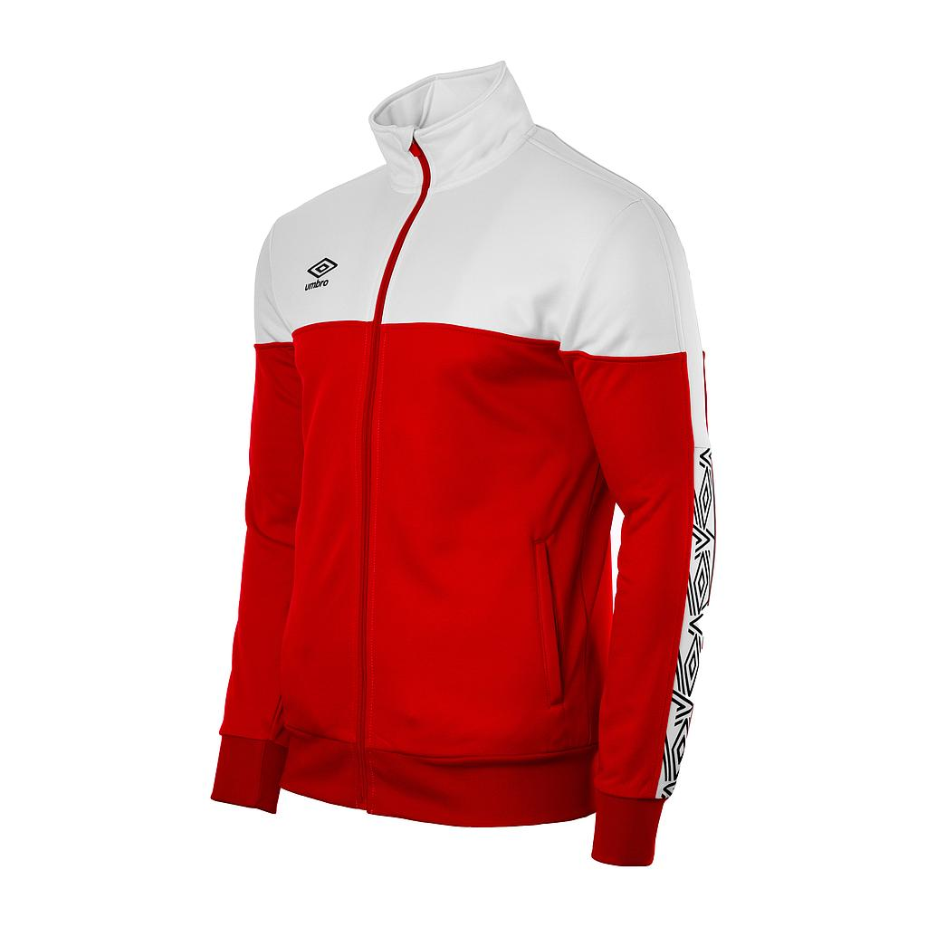 22007I-600 NYASSA TRAINING JACKET RED / WHITE