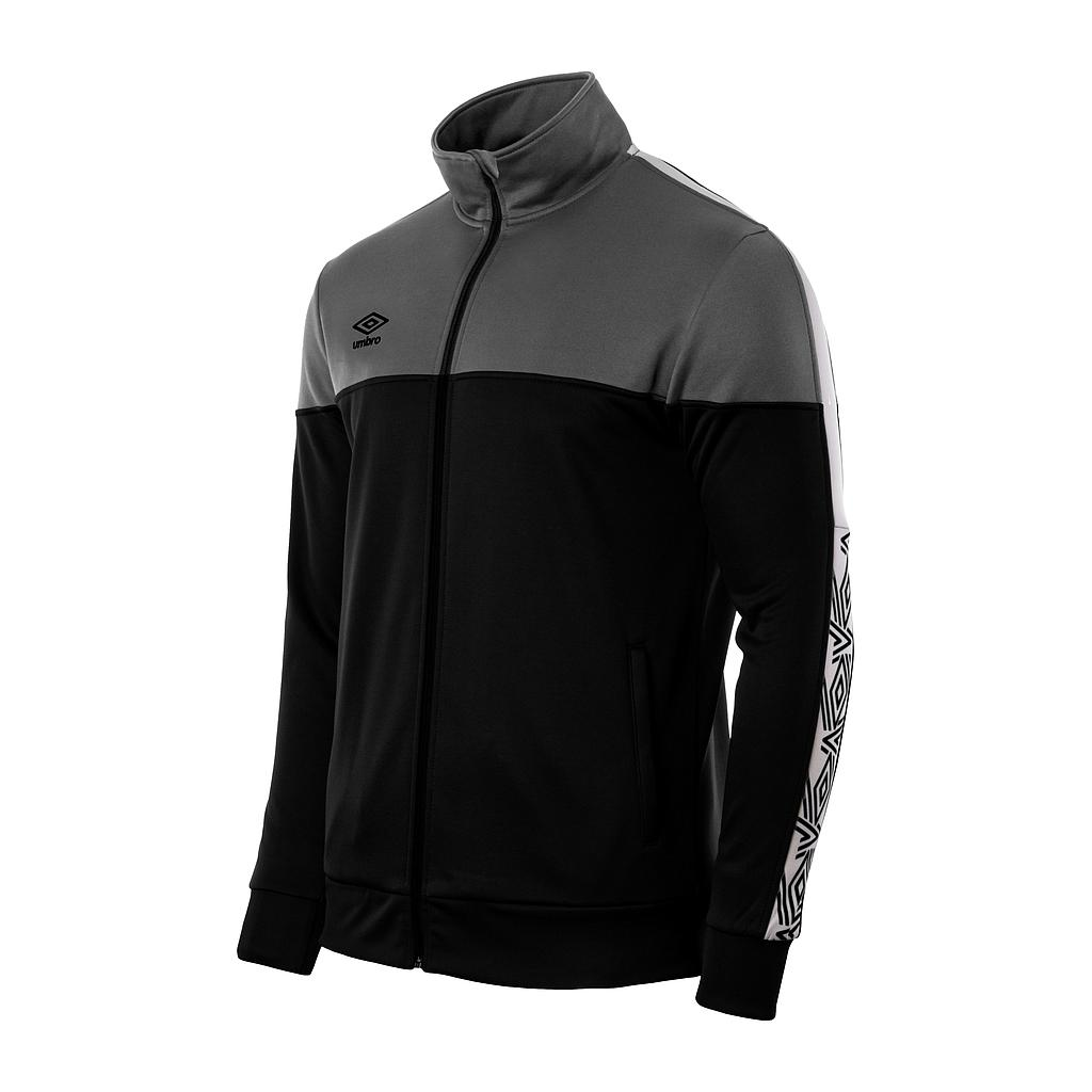 22007I-001 NYASSA TRAINING JACKET BLACK / WHITE