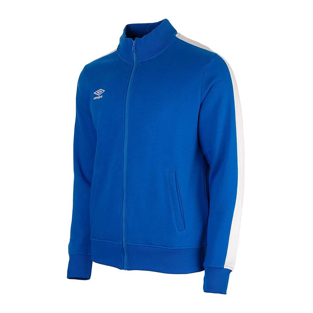 65520U-HG9 FW ZIP TRACK TOP REGAL BLUE / BRILLIANT WHITE