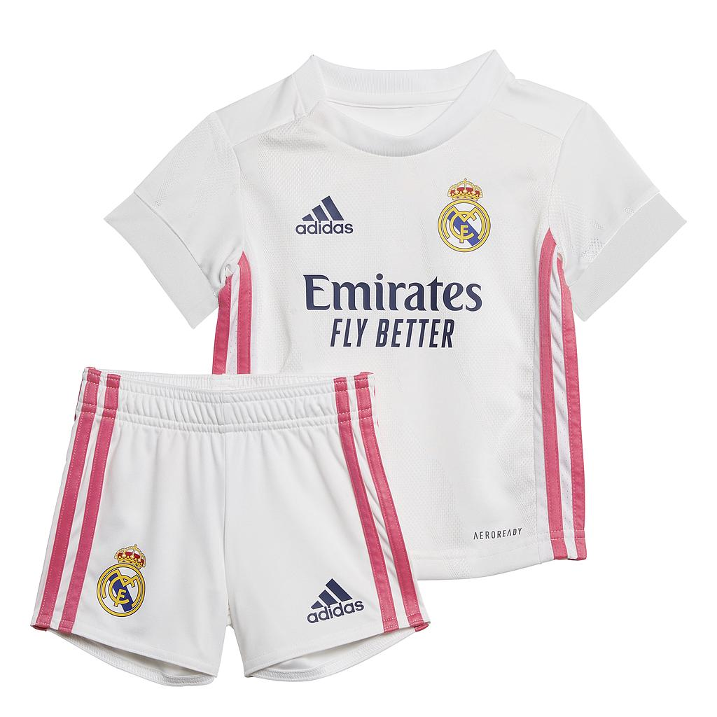 20/21 REAL MADRID HOME BABY KIT