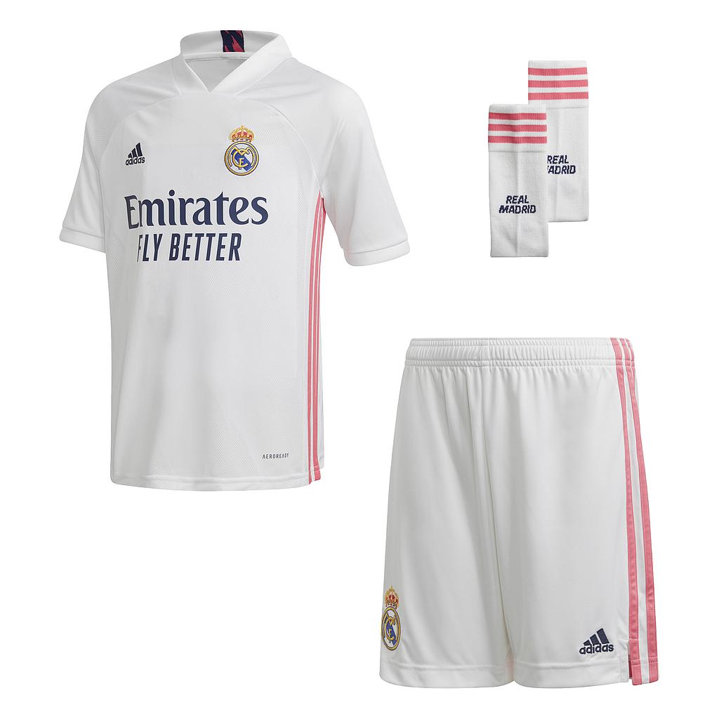 20/21 REAL MADRID HOME YOUTH KIT