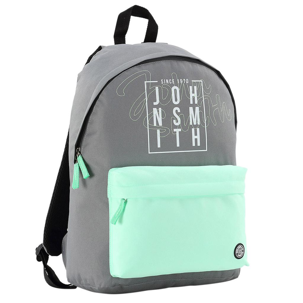 MOCHILA JOHN SMITH GRIS MEDIO VIGOR