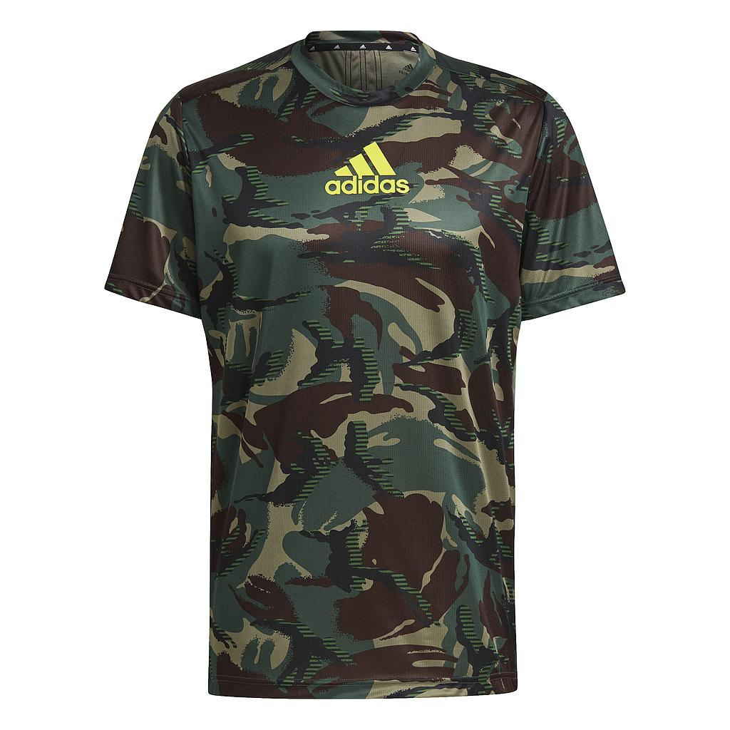ADIDAS MEN D2M CAMO GRAPHIC T-SHIRT 1
